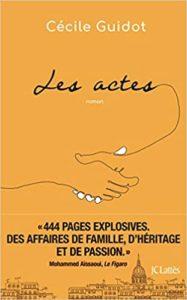 Les Actes Cécile Guidot