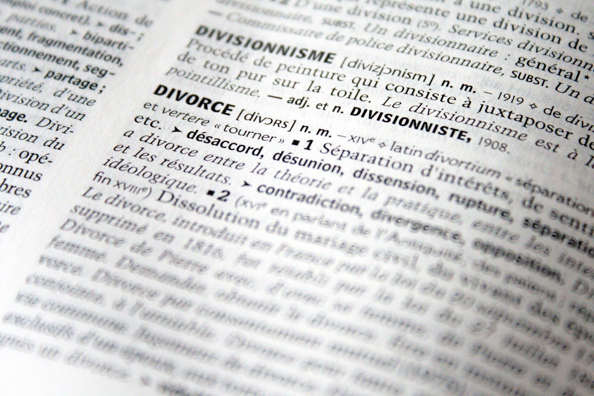 droit de partage divorce amiable