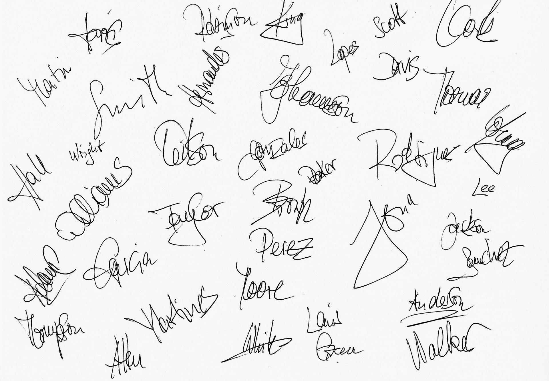 Signature procuration